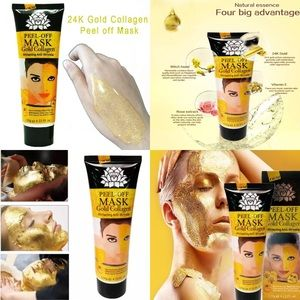 Other - 2pcs Gold peel off Mask
